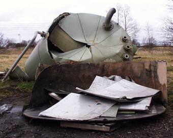 tank collapse